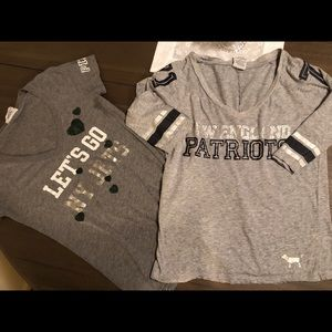 Patriots & Jets t shirts
